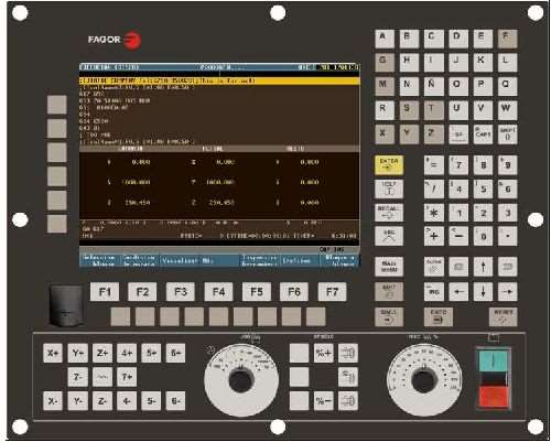 Fagor 8055 FL Power series