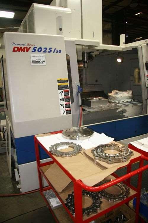 50-taper Doosan DMV 5020 VMC