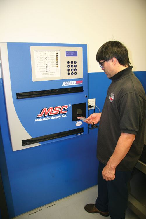MSC tool vending system
