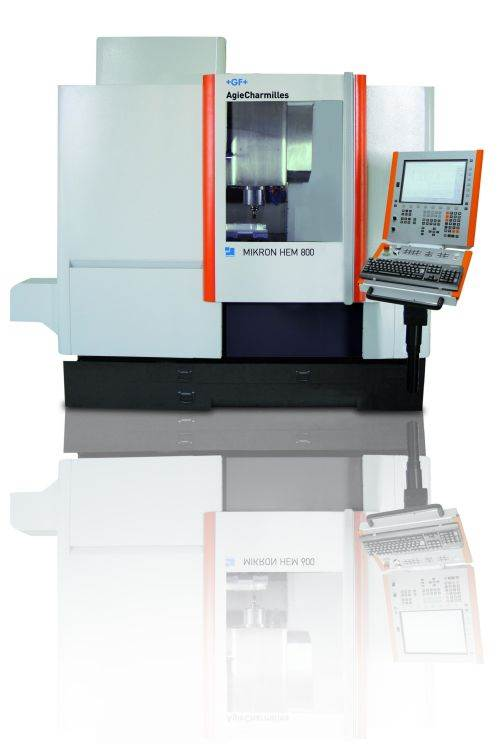 AgieChermilles Mikron HEM 300 three-axis VMC