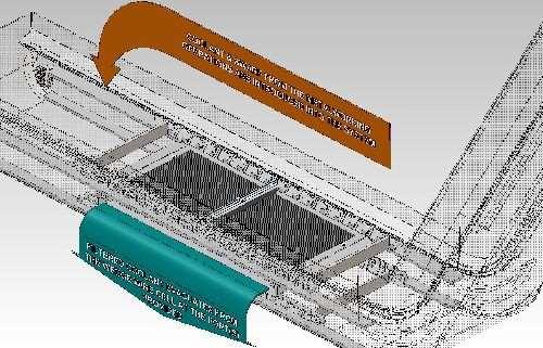 Jorgenesen wedgewire drag flight scraper conveyer