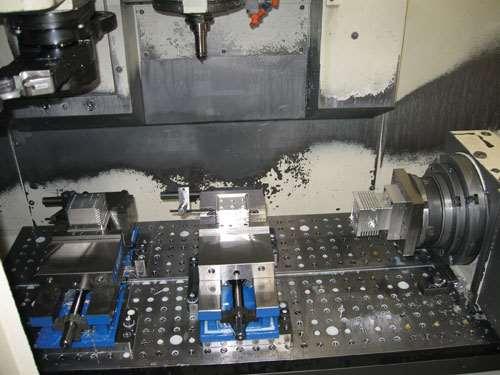 machining setup