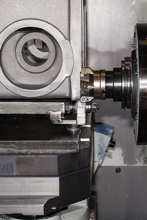 Seco's Square 6 and TurboMill tooling