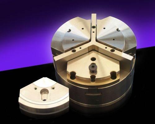 Northfield Precision Model 650 sliding-jaw air chuck