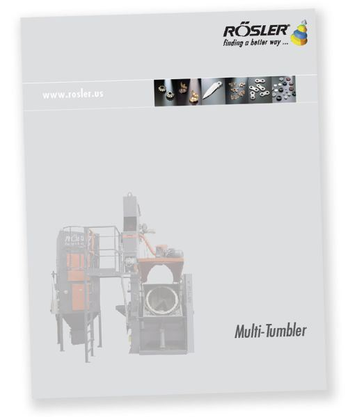 Rosler Metal Finishing brochure