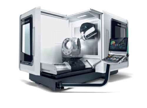 DMG Mori Seiki DMU 80 P duoBlock five-axis machining center