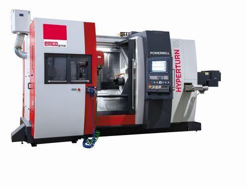 EMCO Maier Hyperturn 65 Powermill multitasking machine