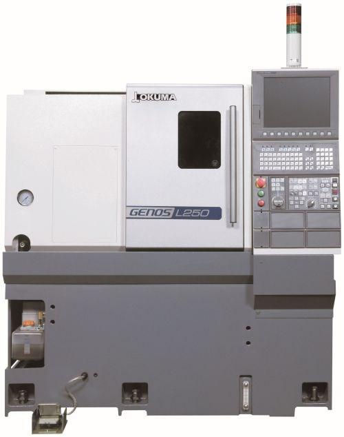 Okuma Genos L250E horizontal lathe