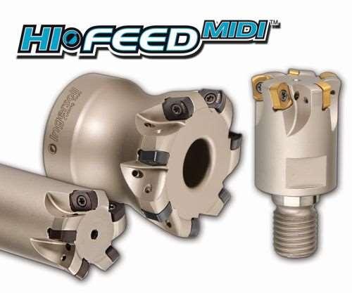 Ingersoll Cutting Tools Hi-FeedMidi milling cutters