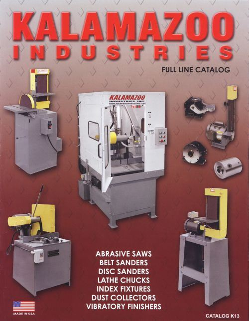 Kalamazoo Industries cuttoff saw catalog