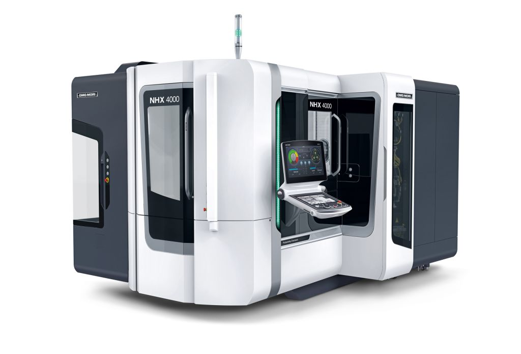 DMG MORI NHX 4000 2nd Generation horizontal machining center