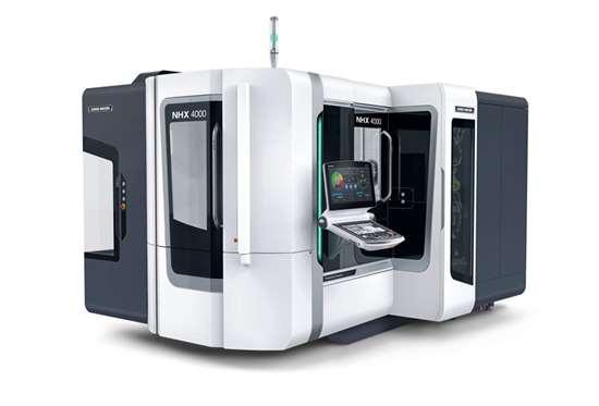 DMG MORI NHX 4000 2nd Generation horizontal machining center