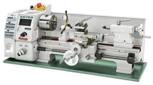 Grizzly G0768 variable-speed lathe