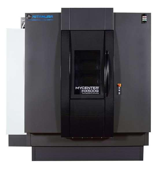 Kitamura Mycenter-HX500G horizontal machining center