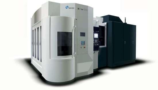 Makino a51nx-5XU five-axis horizontal machining center