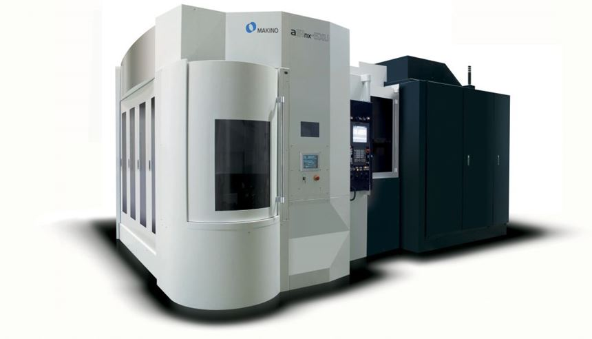 Makino a51nx-5XU five-axis horizontal machining center