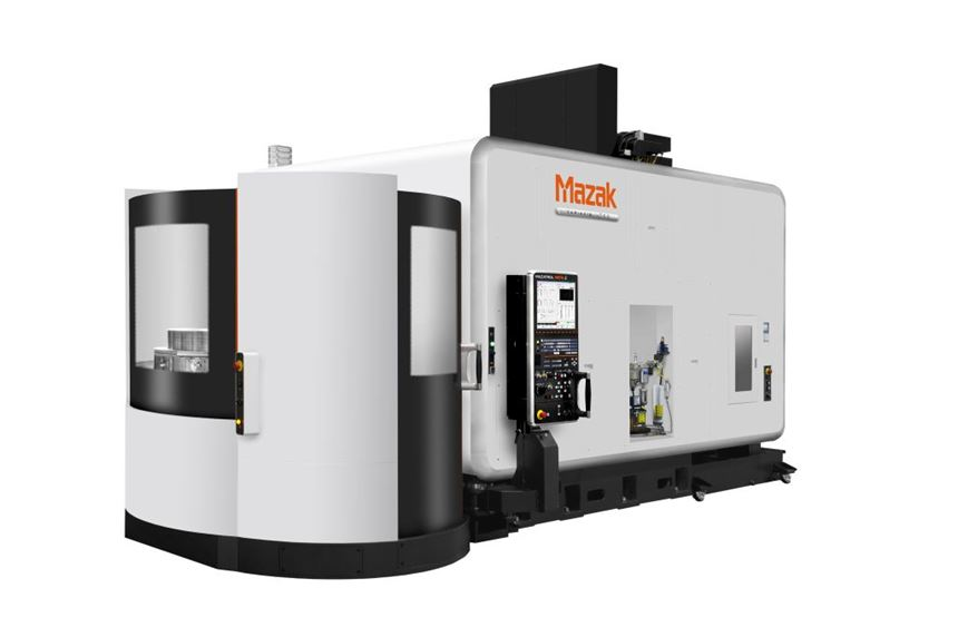 Mazak Variaxis i-700 vertical machining center