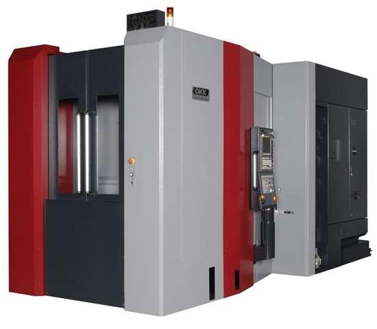 OKK HMC500 horizontal machining center