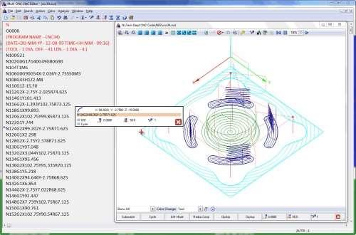 Spectrum CNC Technologies Multi-DNC backplotter