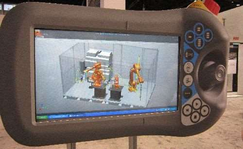 ABB's simulated production cell