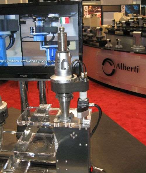 Alberti's 60,000-rpm electric spindle