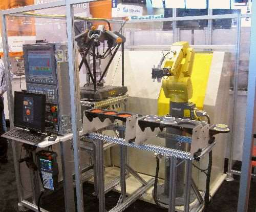 Renishaw's automated cell