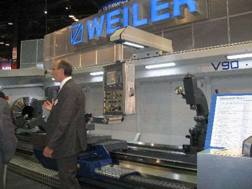 Weiler's precise flatbed lathes