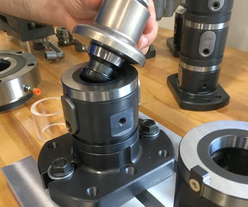 Quick-change workholding system