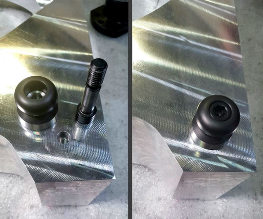 Holes needed to add knobs for workholding