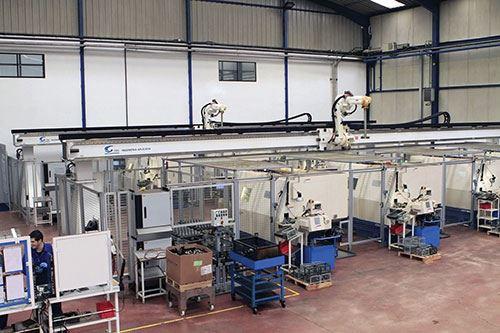 CNC Machines in DAU's facility