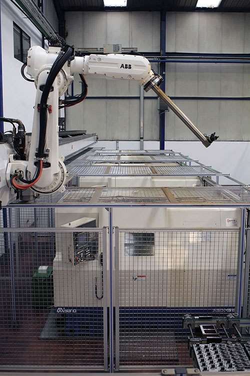 The IRB 6620LX ABB robot
