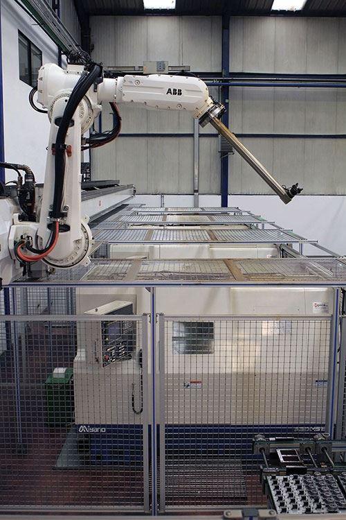 The IRB 6620LX ABB robot