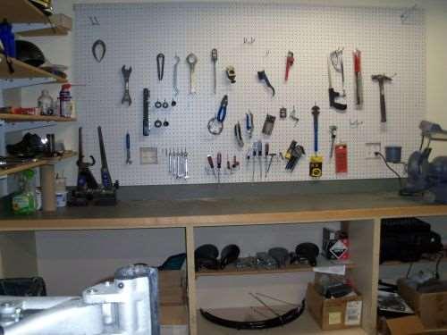 CNC's bike shop