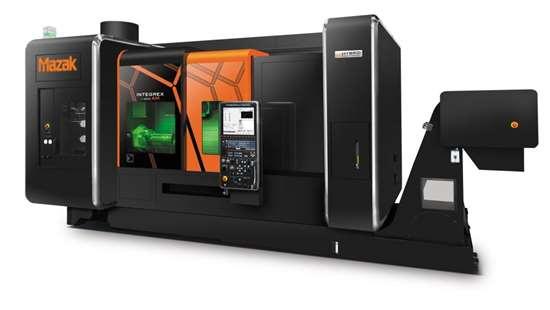 Mazak's Integrex i-400AM hybrid multitasking machine