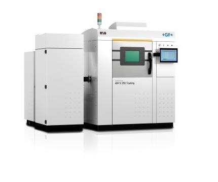 GF Machining AgieCharmilles AM S 290 Tooling system