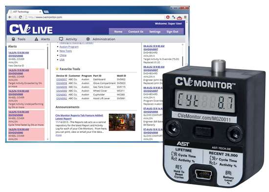 remote mold monitoring system