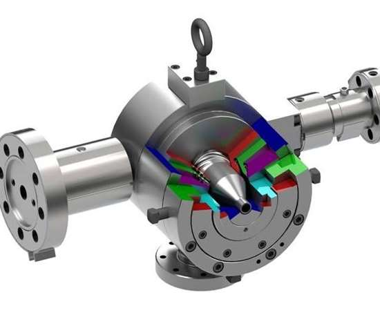 Guill Tool Series 824 co-extrusion crosshead