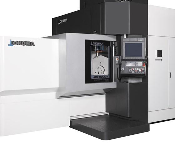Okuma MU 8000V-L five-axis machining center