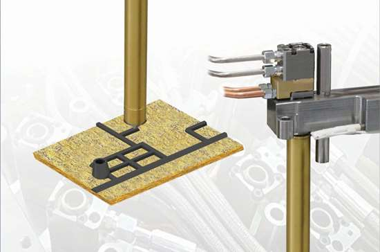 HEM miniature hydraulic valve gate