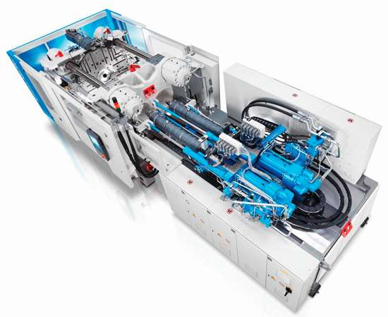 GXH multi-component injection molding machine