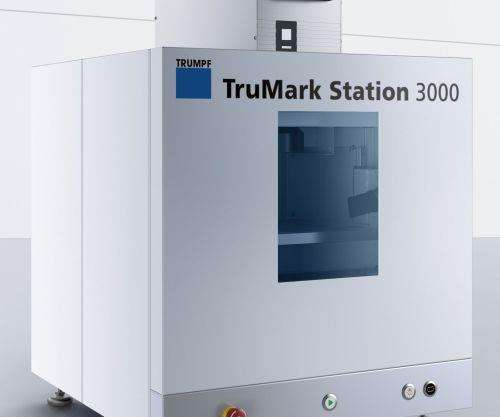 TruMark compact marking station