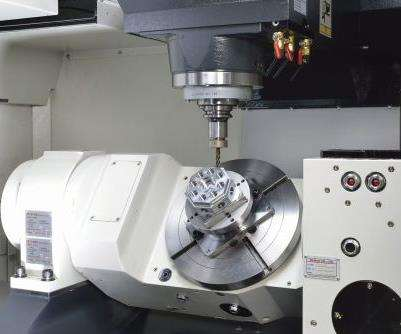 Chevalier Machinery QP5X-400 VMC with two-axis trunnion table