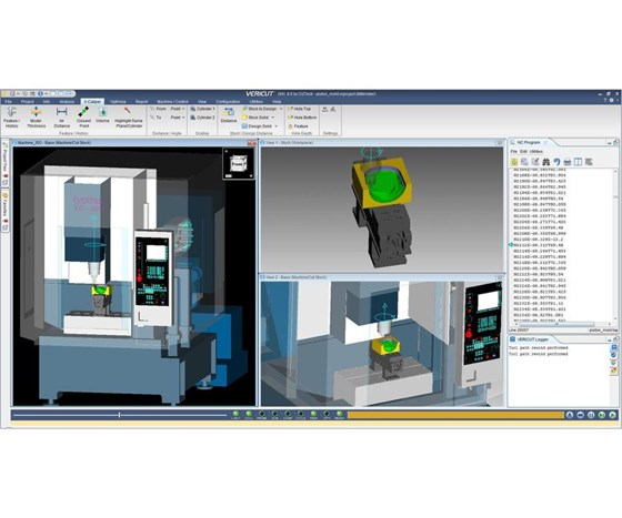 CGTech Vericut CNC simulation software