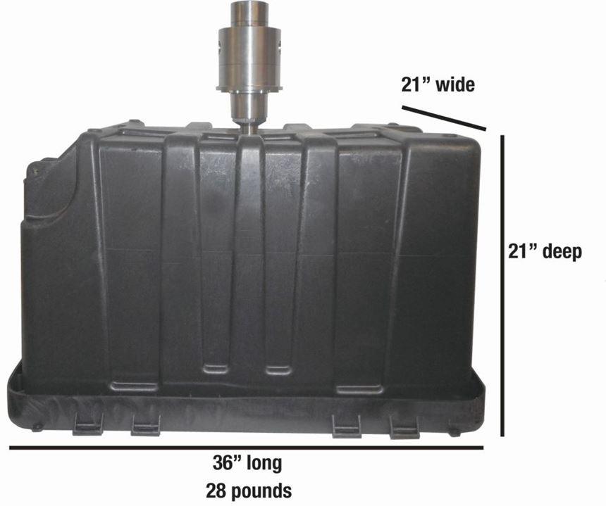 Osco Jumbo valve gate nozzle