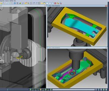 CGTech Vericut CNC machine simulation version 7.4.2