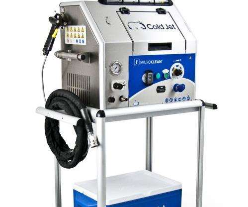 Cold Jet i³ MicroClean dry ice system