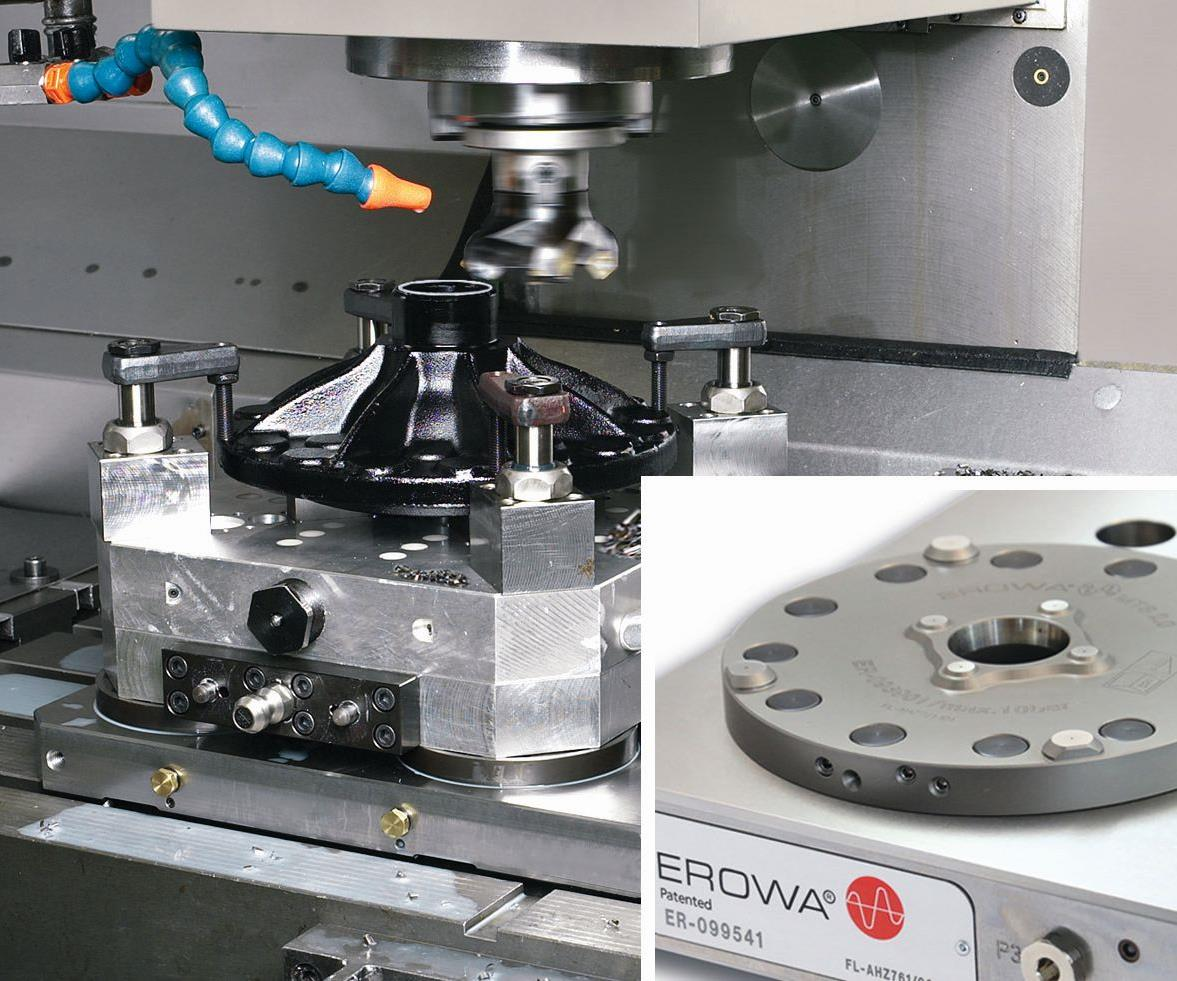 Erowa MTS zero-point modular tooling system