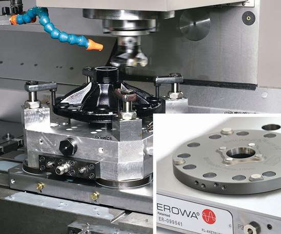 MTS zero point modular tooling system
