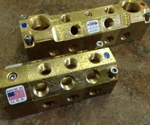Kool Flow Manifold FB2 Series brass manifold