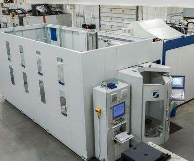 Krieger Craftsmen Grob 550 machining center